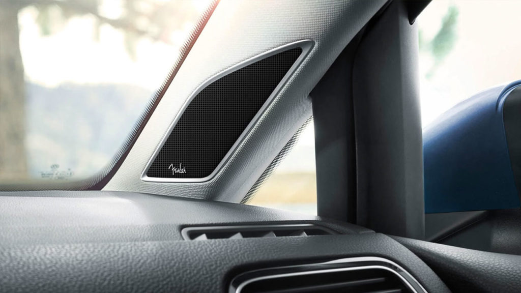 2019 VW Golf Sportwagen Fender Premium Audio System
